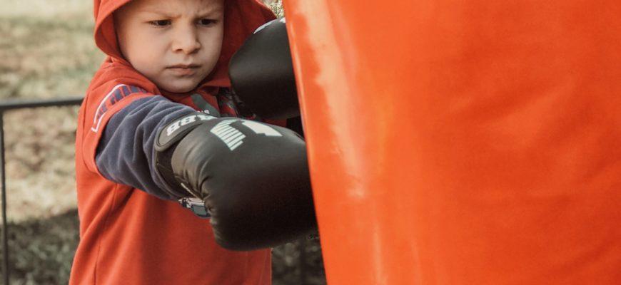 Чем полезны занятия с боксерской грушей для детей?