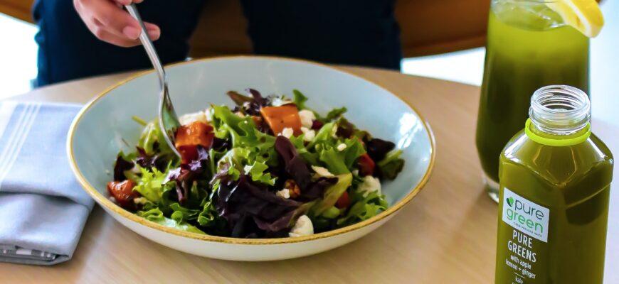 Салат с курицей, сжигающий жир